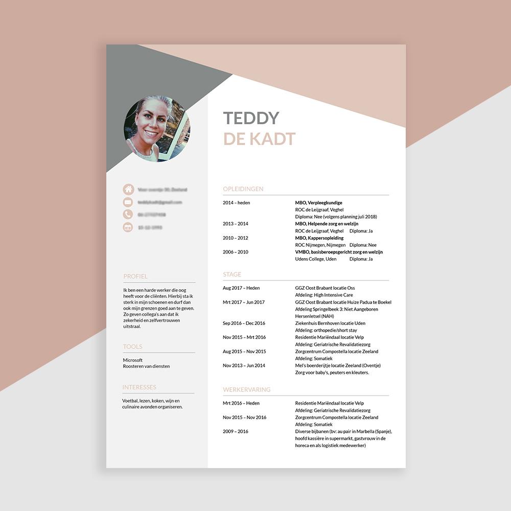 sollicitatiebrief ggz CV Design • Een CV is belangrijker dan een sollicitatiebrief. sollicitatiebrief ggz