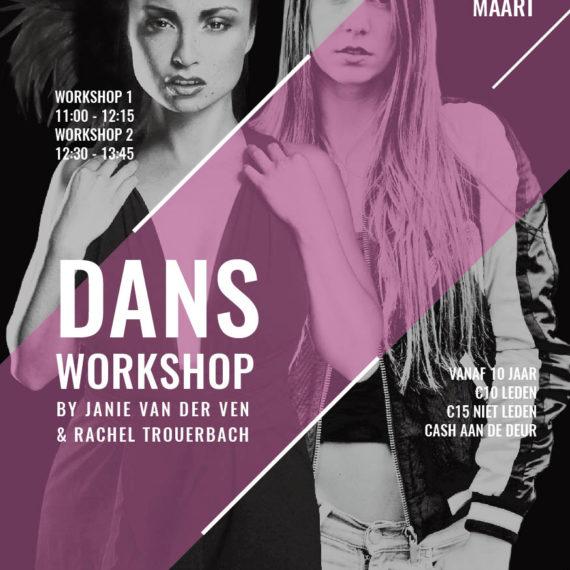 JAVD Dance Flyer